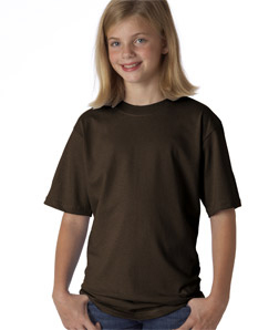 420 Brown Youth Large tee