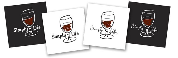 Simple Life Red Wine mena nd womens' tees
