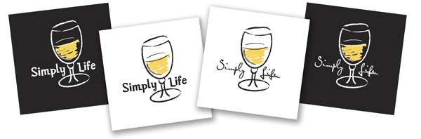 Simply Life White Wine Tees